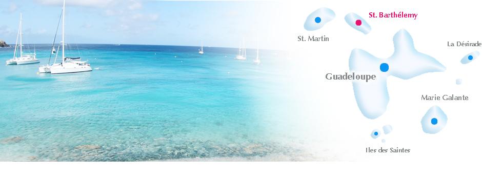 Kleine Antillen Karte.Saint Barthelemy St Barths Online Reisefuhrer