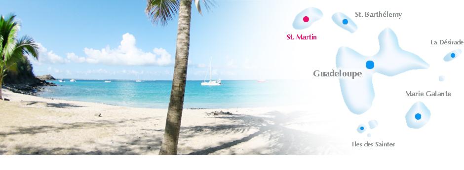 Kleine Antillen Karte.Saint Martin Sint Maarten Online Reisefuhrer Geografische